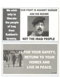 Iraq leaflets